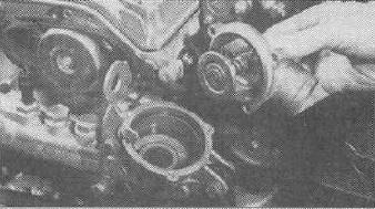 Снятие и замена термостата Mercedes W210