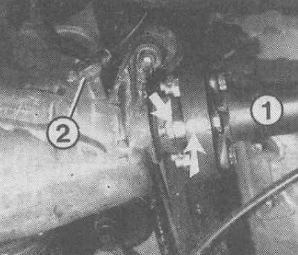 Как снять карданный вал W210
