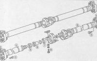 Карданный вал Мерседес W210