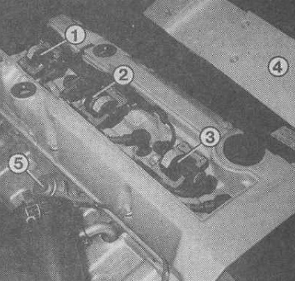 Замена катушек зажигания Мерседес W210