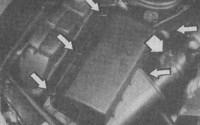 замена воздушного фильтра мерседес w210