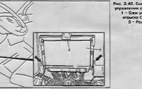 Снятие и установка блока управления системой впрыска CDI Mercedes Sprinter