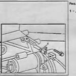 Снятие и установка датчика положения коленвала Mercedes Sprinter