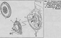 Снятие и установка задней крышки с сальником Mercedes Sprinter