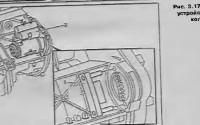 Устройство для блокировки коленвала Mercedes Sprinter
