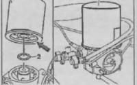 Замена картриджа осушителя Спринтер